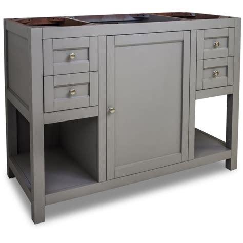 cabinets 48 inches wide jeffrey van103 48 grey astoria modern collection