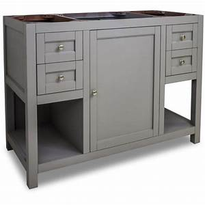 jeffrey alexander van103 48 grey astoria modern collection With 48 inch bathroom vanity cabinet only