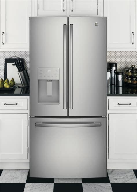 gfejskss ge  french door refrigerator led lights energy star stainless steel