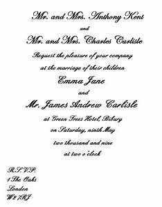 wedding invitation wording etiquette With wedding invitation text from bride and groom