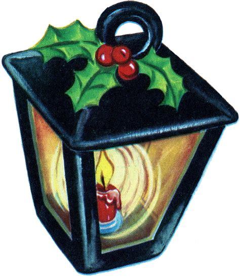 retro christmas lantern image  graphics fairy