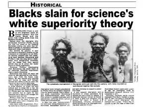 missing the link between darwin and racism creation