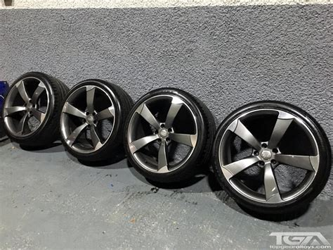 Best Tyres For Audi A4 20 Inch Audi Black Edition Style Ttrs Alloy Wheels And