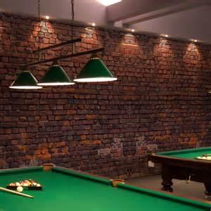 Papier Peint Briques by Papier Peint Effet Brique Rouge