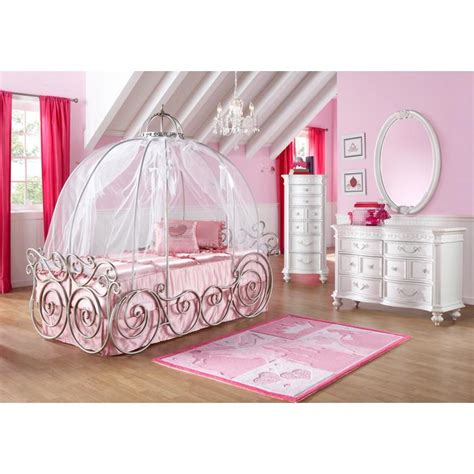 princess bedroom set disney princess carriage bed babycenter