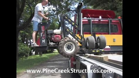 Mule V Shed Mover by Pine Creek Structures Shed Mule Delivery