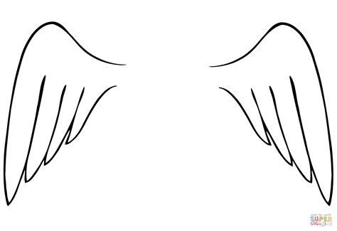 Kleurplaat Wings wings coloring page free printable coloring pages