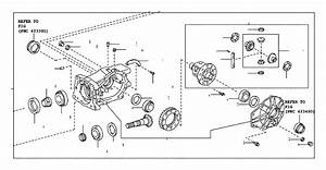 Toyota Rav4 Differential Pinion Seal  Seal  Oil Diaphragm