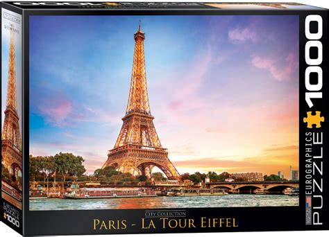 paris jigsaw puzzle  eurographicspuzzles