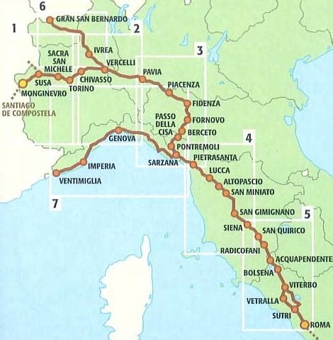 Via Francigena II: from Vercelli to Lucca | My Pilgrimages ...