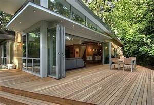 Large Sliding Glass Doors Bring Outdoors In