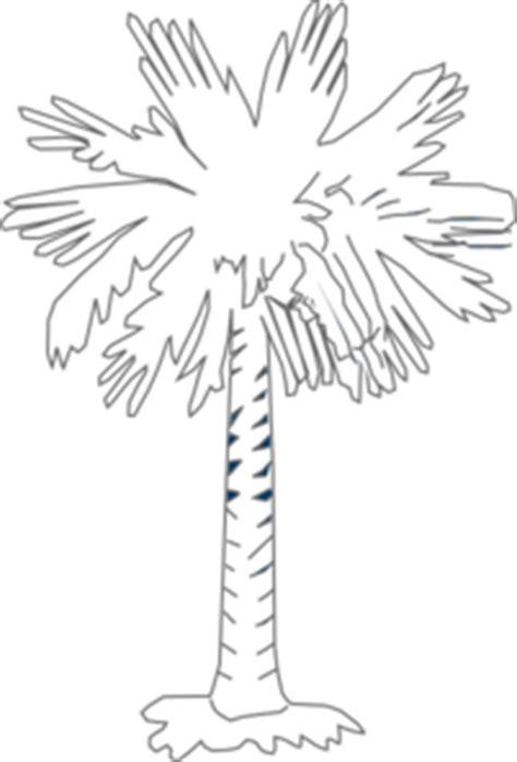 south carolina flag palmetto   moon clip art