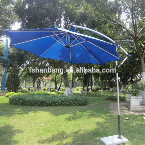 led umbrella wind resist standard size solar panel