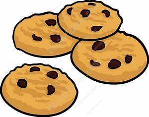 Chocolate Chip Cookies And Milk Clipart (29+)