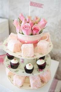 Ladies' Girl Shabby Vintage High Tea Party Planning Ideas
