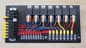 7 Relay Panel W   Push