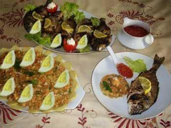 cuisine tunisienne poisson recette couscous sfaxien aux poissons