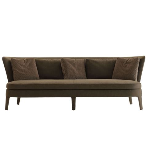 canape bas febo canapé avec coussin d 39 assise bas maxalto milia shop