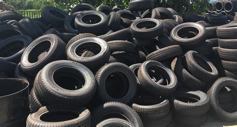What happens to used tires?
