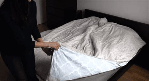 What Do You Put In A Duvet by The Ingenious Duvet Cover Trick That Will Change Your