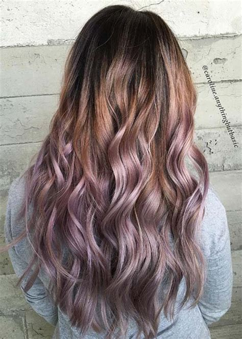 pretty chocolate mauve hair colors ideas  inspire fashionisers