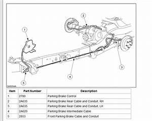 2000 Ford Explorer Emergency Brake Cable