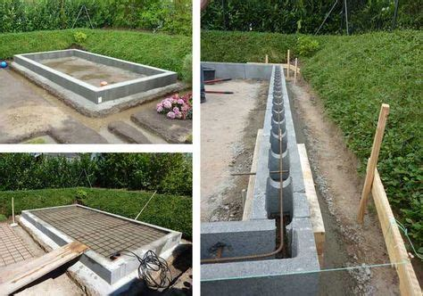 Bodenplatte Selbst Betonieren Auf Den Fundamentplan Kommt Es An by Das Richtige Fundament F 252 R Ihr Gartenhaus Zuk 252 Nftige