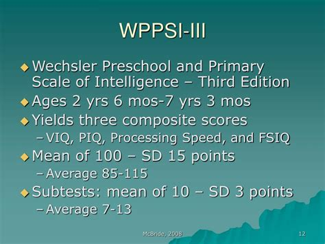 ppt best practices in cognitive assessment powerpoint 597 | wppsi iii l