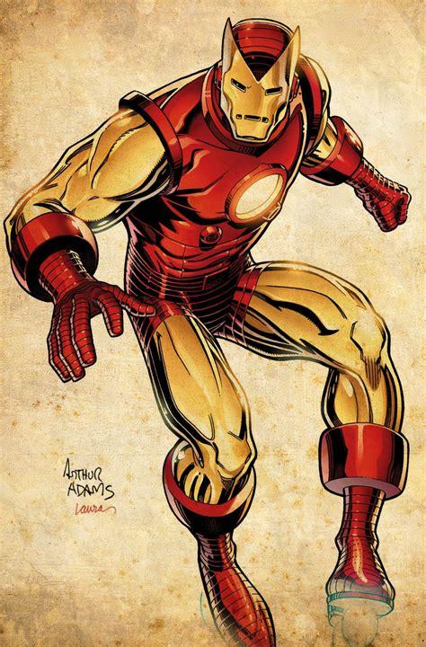 Iron Man By Arthur Adams Comic Book Badassery Pinterest