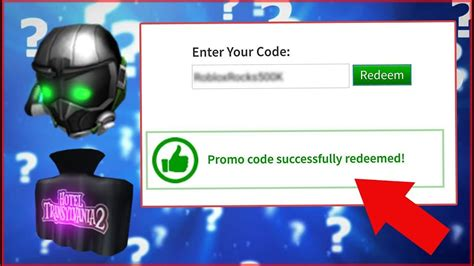 roblox promo codes   work youtube