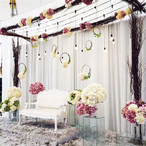 Diy Backdrop Decorations by Diy Wedding Decoration Ideas That Would Make Your Big Day