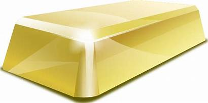Gold Clip Block Clipart Vector Golden Svg