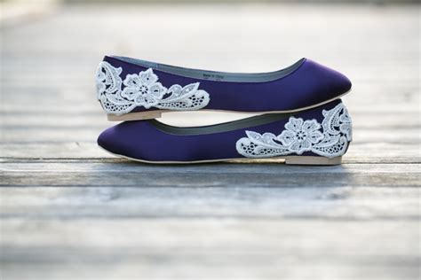 Wedding Flats Purple Wedding Shoes/purple Wedding By