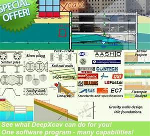 Sheet pile wall design xls : Sheet pile design software deep