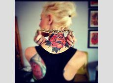 Tatouage Fleur De Lys Cou Tattooart Hd