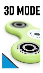 Fidget Spinner 3D Model Full Tutorial   Autodesk Inventor ...