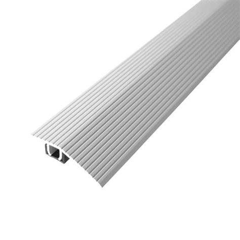 beige aluminum floor reducer
