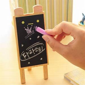 mini cute 4 sets lot stand blackboard with blackboard With desktop letter board