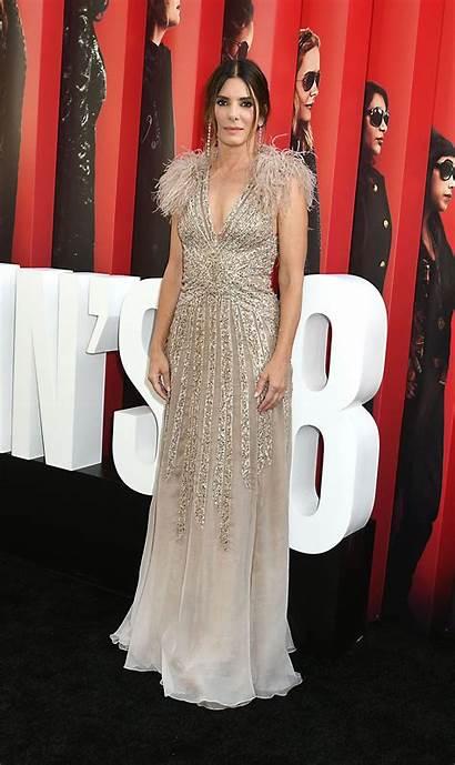 Sandra Bullock Ocean Premiere York Couture Elie