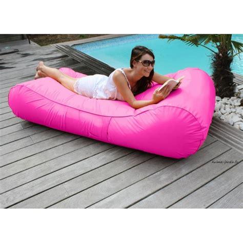canapé gonflable piscine matelas de piscine flottant wave gonflable canapé pouf