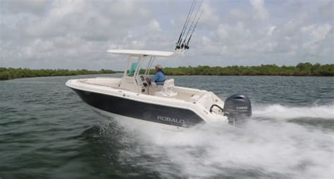 Robalo R227 Boat Test by Robalo R222 2014 Robalo Powered By