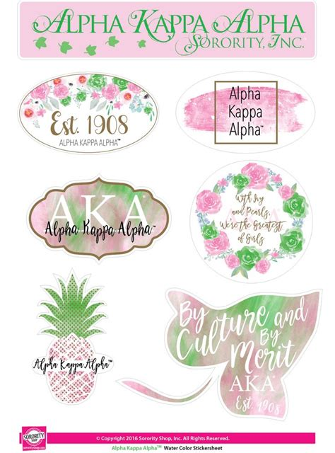 alpha kappa alpha colors 26597 best pretty pearls incorporated images on