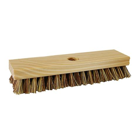 quickie professional 8 in poly fiber stiff deck brush