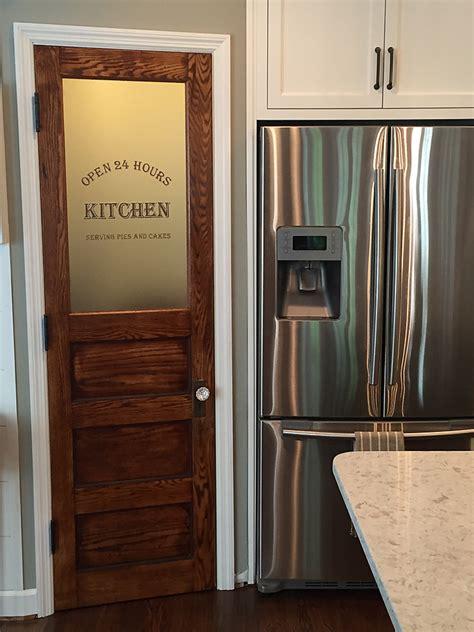 Pantry Door by Pantry Door Reliabilt Primed 1 Panel Solid Etched