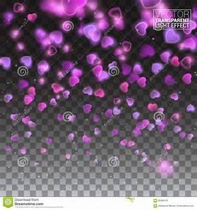 Glittering Sparks Heart Explosion On Transparent ...