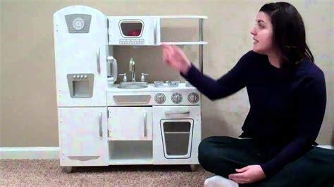 kidkraft white vintage kitchen youtube