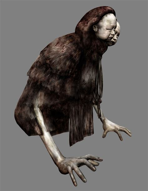 Silent Hill 4 The Room Concept Art Creatures Silent