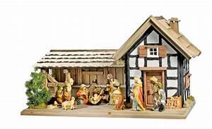 Weihnachtskrippe Holz Selber Bauen : bauplan fachwerkkrippe fachwerk selbst bauen und krippe bauen ~ Buech-reservation.com Haus und Dekorationen