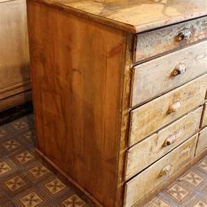 Mobilier Industriel Ancien : mobilier industriel ancien meuble de m tier tiroirs 1900 ~ Teatrodelosmanantiales.com Idées de Décoration