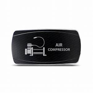 CH4x4 Rocker Switch Air Compressor Symbol